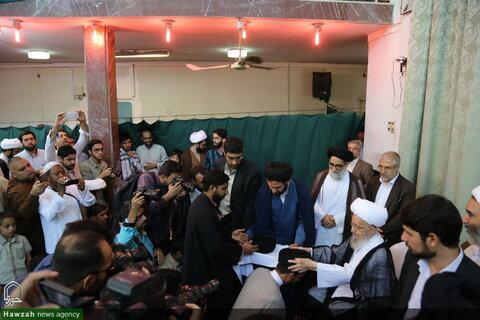 تصاویر/ جشن عمامه گذاری طلاب در عید غدیر خم