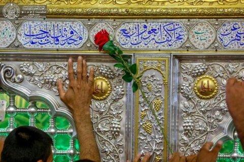 جموع الزائرين من مختلف دول العالم تحط رحالها عند مرقد أمير المؤمنين (ع) بمناسبة عيد الغدير