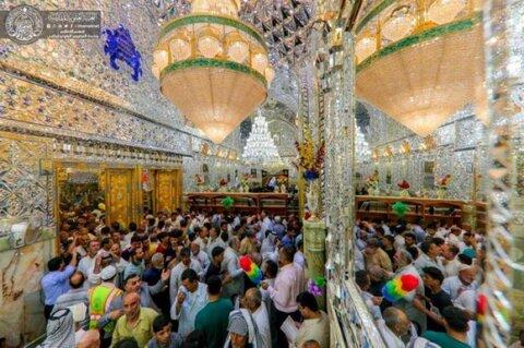 إحياء ذكرى عيد الغدير الأغر في حرم الإمام أمير المؤمنين (ع) بالنجف