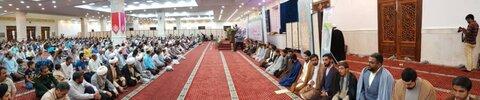 حوزه/۳۰نفر از طلاب هرمزگان در مراسم جشن عید غدیرخم با دستان آیت الله مقتدایی ملبس به لباس روحانی شدن