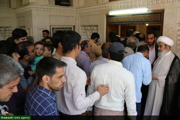 تصاویر/ جشن عید غدیر در دفتر آیت الله العظمی مظاهری  و دفتر امام جمعه اصفهان