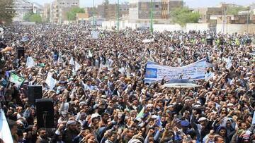 مراسم عید غدیر در شهر های مختلف یمن برگزار شد + تصاویر
