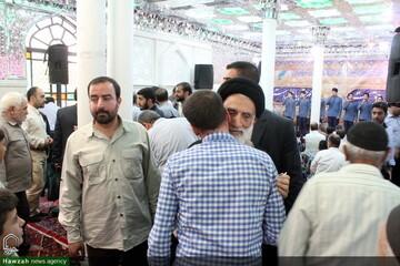 تصاویر/ دیدار غدیری مردم همدان با سادات در امامزاده عبدالله