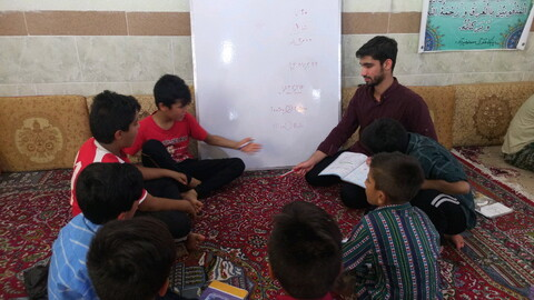 تصاویر شما/ اردوی جهادی مشترک بسیجیان طلبه و دانشجو در مناطق محروم شهرستان دشتستان