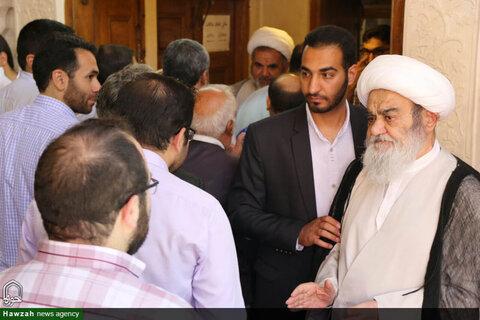 جشن غدیر در دفتر آیت الله العظمی مظاهری  و دفتر امام جمعه اصفهان
