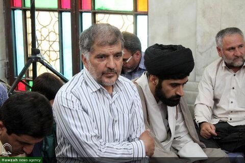 تصاویر/ دیدار و روبروسی مردم همدان با سادات در امامزاده عبدالله