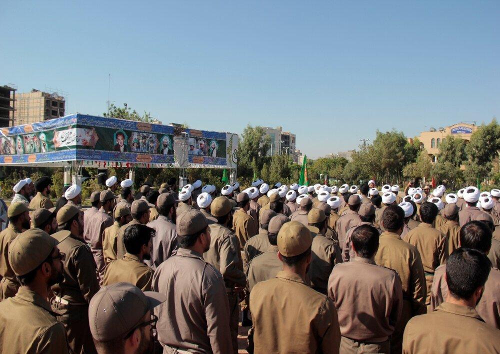برگزاری مراسم یادبود چهلمین روز خاکسپاری شهدای گمنام درتیپ امام صادق (ع)