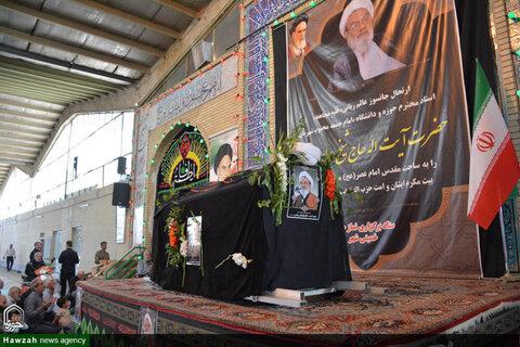 بالصور/ تشييع جثمان إمام جمعة مدينة خميني شهر الإيرانية