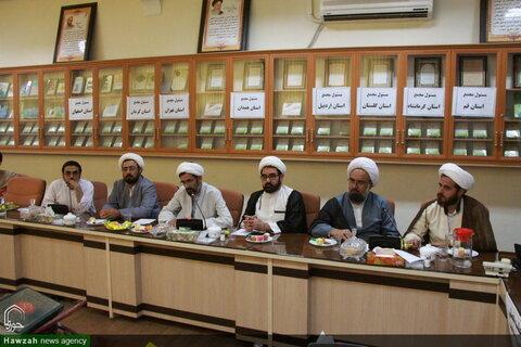 تصاویر/ دومین جلسه فصلی مجمع جهادی روحانیون ولایی و انقلابی
