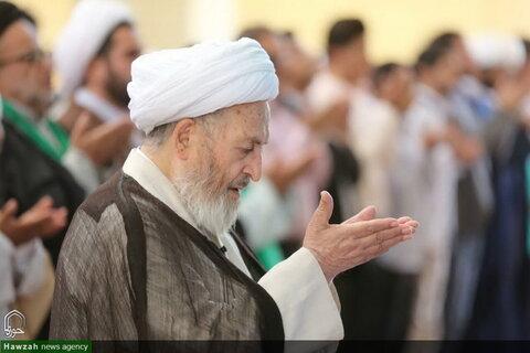 تصاویر/ افتتاح مدینةالعلم کاظمیه یزد توسط آیتالله العظمی سبحانی