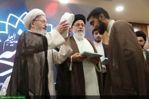 تصاویر/ جشن عمامهگذاری  و تقدیر از ممتازین حوزه علمیه یزد