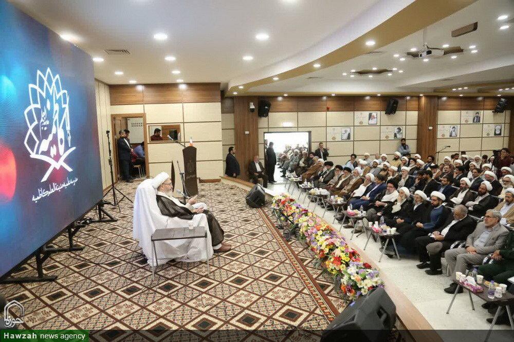 تصاویر/ افتتاح مدینةالعلم کاظمیه یزد توسط آیتالله العظمی سبحانی(۲)