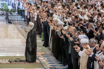 تصاویر/ نماز جمعه امروز تهران