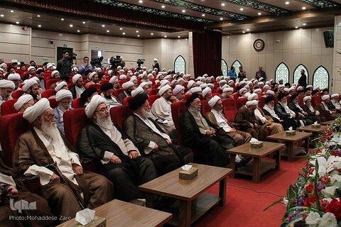 دومین اجلاس تعالی اساتید و نخبگان بسیجی حوزه های علمیه در مشهد