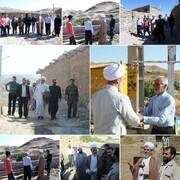 بازدید امام جمعه بویین زهرا از اردوهای جهادی