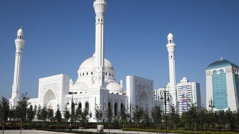 بزرگترین مسجد اروپا در چچن روسیه افتتاح شد
