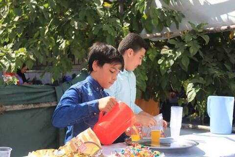 تصاویر شما/ مراسم جشن و برپایی ایستگاه صلواتی توسط نوجوانان مسجد جامع امام علی(ع) شهران در ایام غدیر
