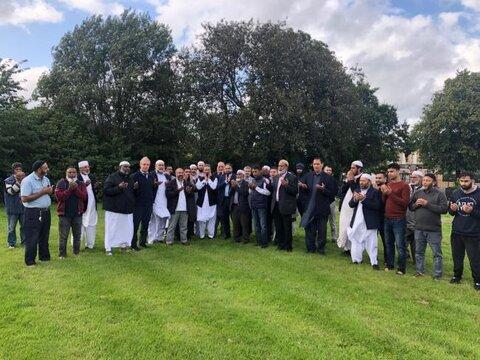 تخصیص زمین قبرستان به جامعه اسلامی در لانگشایر