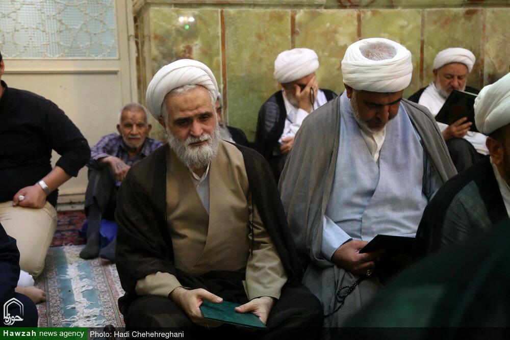 تصاویر/ مراسم چهلم حجت الاسلام والمسلمین سيد علیرضا حائری در قم