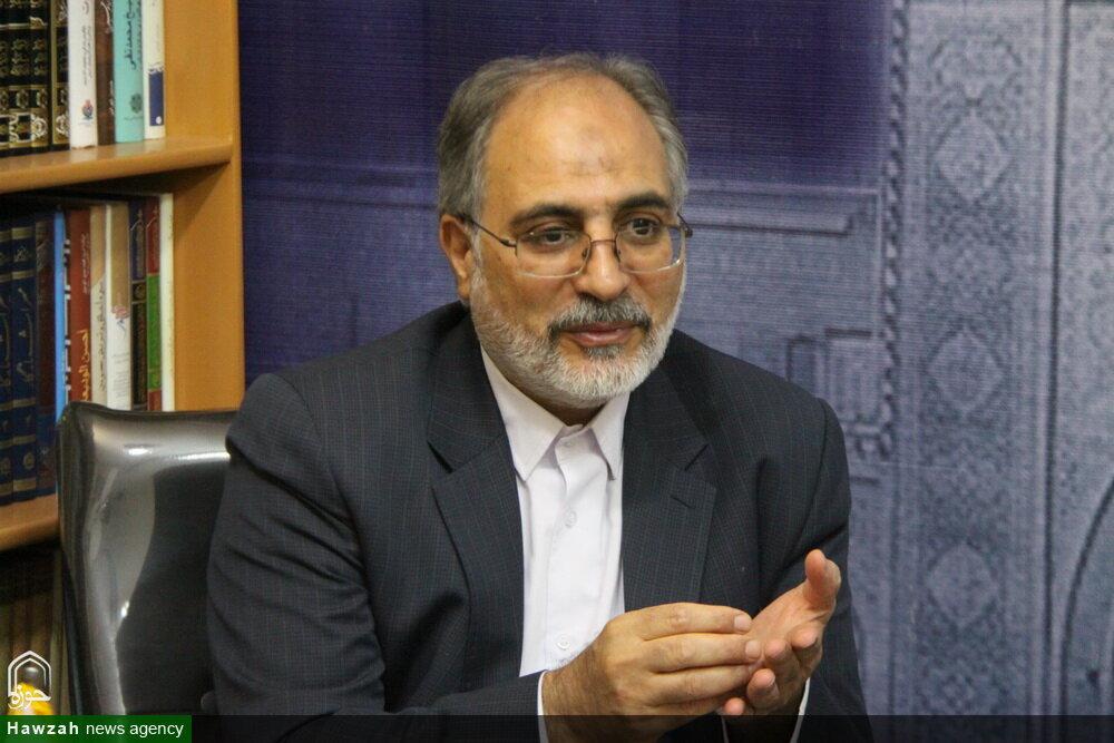 محمد محمدرضایی استاد دانشگاه تهران و رئیس بنیاد نخبگان استان قم