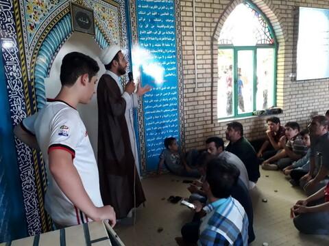 تصاویر شما/ فعالیت های فرهنگی روحانیون در غار علیصدر همدان