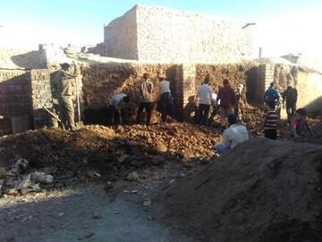 اردوی جهادی طلاب بیرجند در «سیوجان»