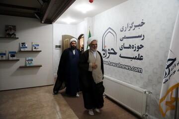 فیلم/ بازدید نماینده ولی فقیه در استان هرمزگان از خبرگزاری حوزه