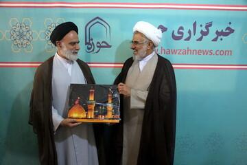 نماینده ولی فقیه در هرمزگان از خبرگزاری حوزه بازدید کرد