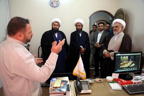 تصاویر/ بازدید نماینده ولی فقیه در استان هرمزگان از خبرگزاری حوزه
