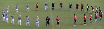 مسابقه فوتبال دوستانه بین دو تیم اداره پلیس و جامعه اسلامی نیوزیلند