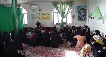 اعزام 30 بانوی طلبه جهادی به روستای چهکند