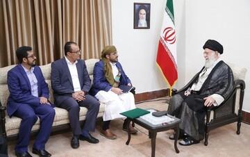 سخنان رهبر انقلاب در دیدار با مقامات انصارالله روحیه ملت یمن را بالا برد