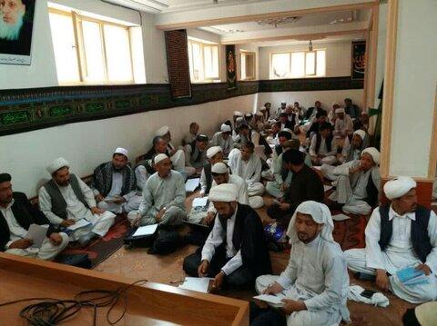 مكتب آية الله الحكيم دورة تطويرية لأئمة الجماعات في كابل