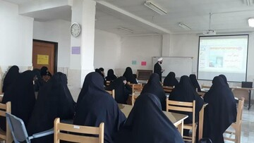 آموزش مهارت بیان تفسیر در حوزه خواهران تهران+ عکس