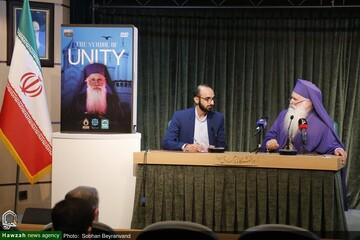 """بالصور/ ندوة تخصصية تحت عنوان """"الحسين (ع) في الفكر المسيحي"""" في جامعة الإمام الصادق (ع) في العاصمة طهران"""
