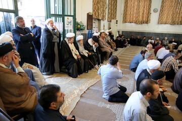 تصاویر/ مراسم چهلم مرحوم شیخ محمود واعظی اردبیلی در قم