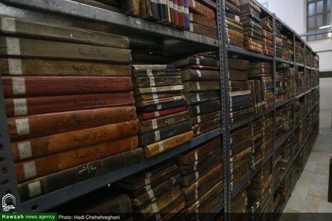 تقرير مصور عن مكتبة آية الله العظمى الكلبايكاني (ره) بقم المقدسة