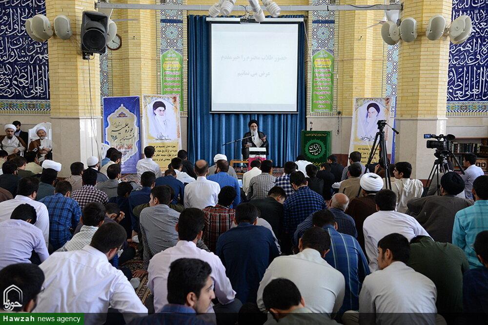 تصاویر/ مراسم افتتاحیه سال تحصیلی جدید حوزه علمیه استان البرز