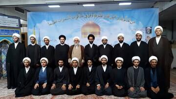 تصاویر شما/ آمادگی تبلیغی طلاب مدرسه علمیه دارالسلام تهران جهت اعزام در ایام محرم