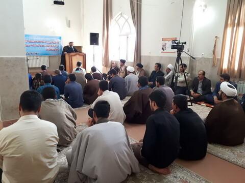 تصاویر/ افتتاح سال تحصیلی جدید مدرسه علمیه کامیاران با حضور نماینده ولی فقیه در استان کردستان