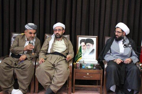 دیدار علمای اهل سنت کردستان با امام جمعه همدان