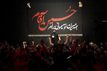 تصاویر/ مراسم عزاداری شب اول محرم در اهواز