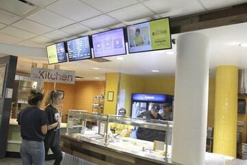 دانشگاه ایالتی نیویوک در پلاتس، غذاخوری حلال افتتاح کرد