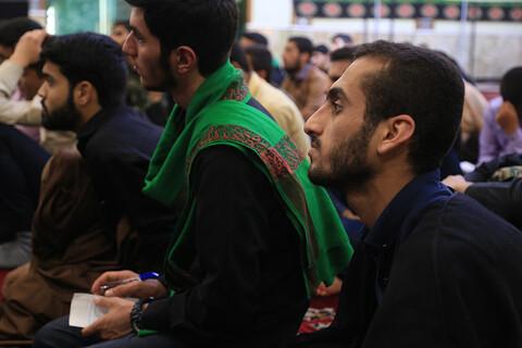 تصاویر/ جلسه درس اخلاق طلاب جدیدالورود اهوازی