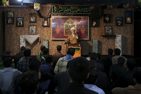 تجدید میثاق طلاب جدیدالورود حوزه علمیه خوزستان با شهدای گمنام