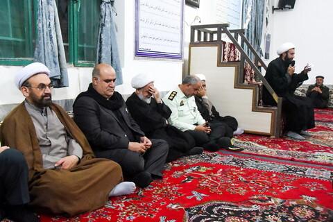 تصاویر/ بازدید نماینده ولی فقیه در خراسان شمالی از هیئات مذهبی بجنورد