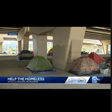 داوطلبان مسلمان به کمک هموطنان بی خانمان در میلواکی شتافتند