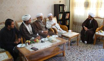 رئیس دفتر تبلیغات اسلامی اصفهان از پیشکسوت تبلیغ عیادت کرد