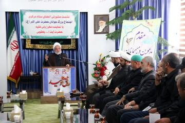 تصاویر/ نشست ستاد اجتماع جوانان علی اکبر(ع) با نماینده ولی فقیه در خراسان شمالی