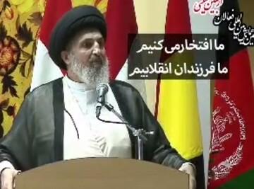 فیلم| روحانی عراقی؛ ما فرزندان انقلابیم